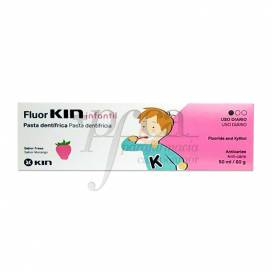 FLUORKIN PASTA INFANTIL FRESA 50 ML