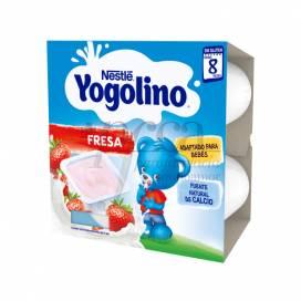 NESTLE YOGOLINO FRESA 4X100G