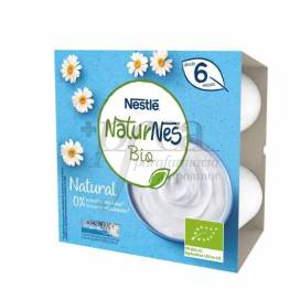 NATURNES BIO NATURAL YOGURT 4X90 G