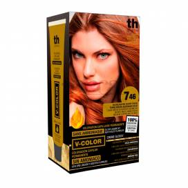 TH V-COLOR N746 MITTLERE KUPFERROT BLOND