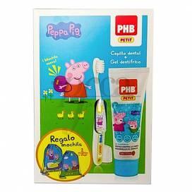 PHB PETIT PEPPA PIG GEL + BUERSTE + GESCHENK PROMO