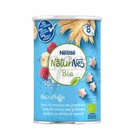 NATURNES BIO NUTRI PUFFS CEREAIS COM FRAMBOESA 35G