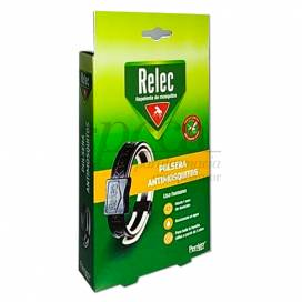 RELEC BLACK MOSQUITO REPELLENT WRISTBAND 3Y+