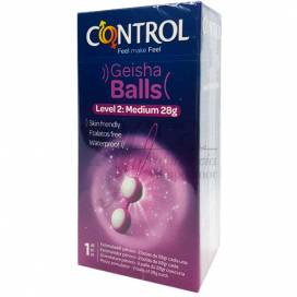 CONTROL GEISHA BALLS SET 2 BOLAS 28 MM