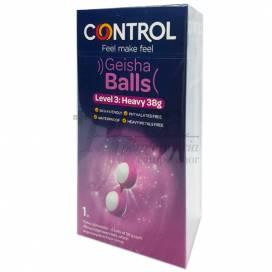 CONTROL GEISHA BALLS SET 2 BOLAS 38 MM