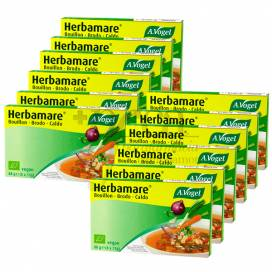 HERBAMARE BROTH 12 X 8 STOCK CUBES A VOGEL