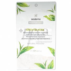 SESDERMA BEAUTYTREATS GREEN TEA THERAPY MASK 25 ML