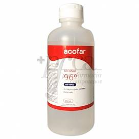 ACOFAR ALCOHOL ETILICO 96º REFORZADO 250 ML