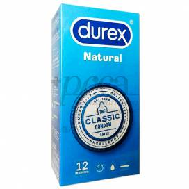 DUREX PRESERVATIVOS NATURAL PLUS 12 UDS