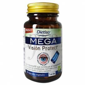 MEGA VISION PROTECT 30 CAPSULAS DIETISA