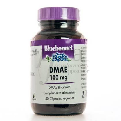 DMAE 100 MG 50 CÁPSULAS BLUEBONNET
