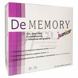DE MEMORY JUNIOR 20 VIALES 10 ML
