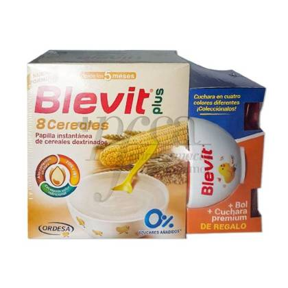BLEVIT PLUS 8 CEREALES 600 G + REGALO PROMO