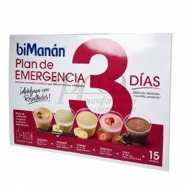 BIMANAN COMPLET DIET 3 COMPLETE DAYS 15 PACKETS