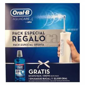 ORAL-B AQUACARE 4 IRRIGADOR + REGALO ENJUAGUE BUCAL PROMO