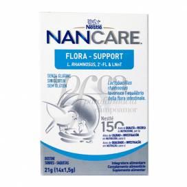 NESTLE NAN CARE FLORA SUPPORT 1,5G 14 SACHETS
