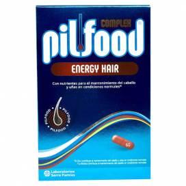 PILFOOD COMPLEX ENERGY 60 COMPRIMID HAIR