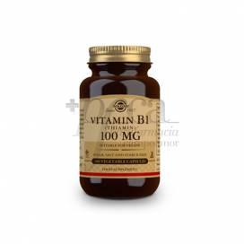 VITAMIN B1 100MG 100 CAPSULES SOLGAR