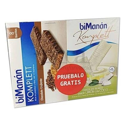 BIMANAN KOMPLETT CHOCOLATE + LEMON COCONUT PROMO