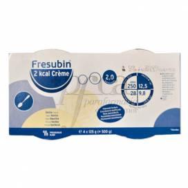 FRESUBIN 2 KCAL CREME VAINILLA 4X125 G