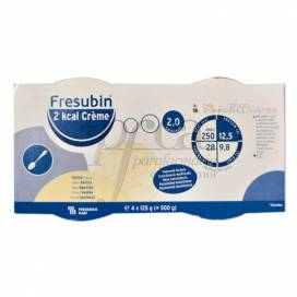 FRESUBIN 2 KCAL CREME VANILLE 4X125 G