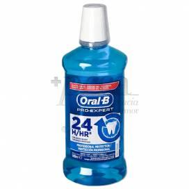 ORAL B PROTEÇÃO PROFISSIONAL 24H COLUTÓRIO 500 ML