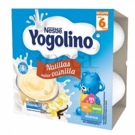 NESTLE YOGOLINO NATILLAS VAINILLA 4X100 G