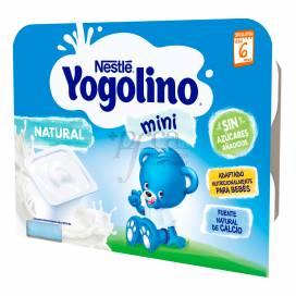 NESTLE YOGOLINO MINI NATURAL 6X60 G