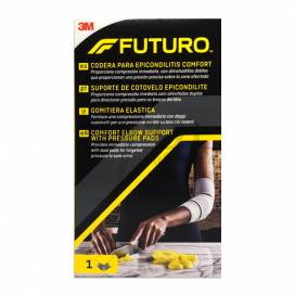 ELBOW SUPPORT WITH PRESSURE PADS FUTURO SIZE S