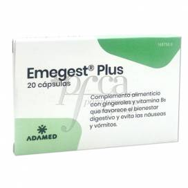 EMEGEST PLUS 20 CÁPSULAS