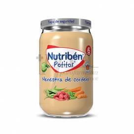 NUTRIBEN MENESTRA DE CORDERO 235 G