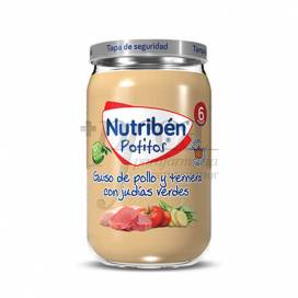 NUTRIBEN CHICKEN BEEF AND GREEN BEANS 235 G