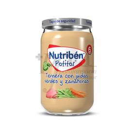 NUTRIBEN BEEF BEANS AND CARROTS 235 G