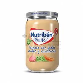 NUTRIBEN TERNERA JUDIAS Y ZANAHORIAS 235 G
