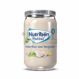 NUTRIBEN VEGETAIS E LINGUADO 235 G
