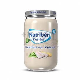 NUTRIBEN VERDURITAS CON LENGUADO 235 G