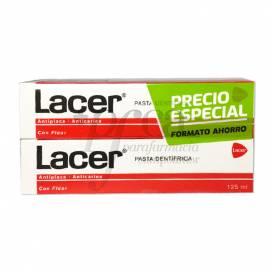 LACER PASTA DE DENTES 2X125 ML PROMO