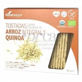 LIGHT RICE AND QUINOA TOASTS 25 UNITS SORIA NATURAL