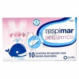 RESPIMAR PEDIATRICO ASPIRADOR NASAL 10 SOBRESSALENTES