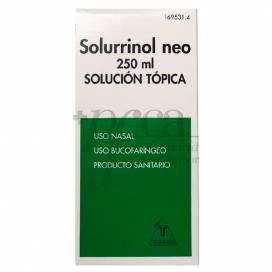 SOLURRINOL NEO SOLUÇÃO TÓPICA 250 ML