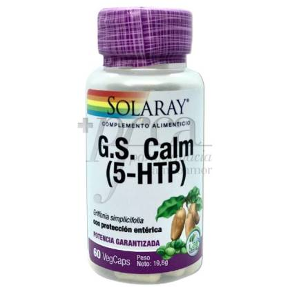 GS CALM (5-HTP) 60 CAPSULES SOLGAR