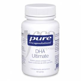 PURE ENCAPSULATIONS DHA ULTIMATE 60 KAPSELN