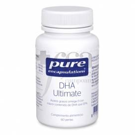 PURE ENCAPSULATIONS DHA ULTIMATE 60 CAPSULES