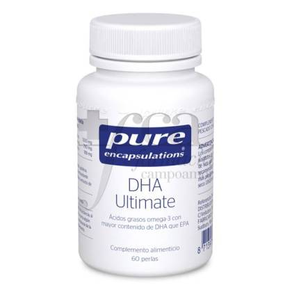PURE ENCAPSULATIONS DHA ULTIMATE 60 CAPSULES