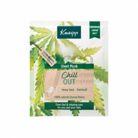KNEIPP SHEET MASK CHILL OUT FACE MASK 1 UNIT