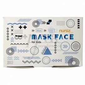 KIDS FACE MASK 3 LAYERS 50 UNITS DIFEFAC