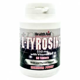 L-TYROSINA 60 TABLETTEN 550MG HEALTH AID