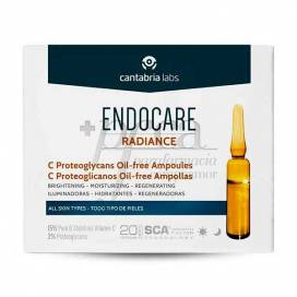 ENDOCARE RADIANCE C PROTEOGLICANOS OIL-FREE 10 AMPOULES