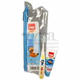 PHB PLUS PETIT GEL AND TOOTHBRUSH POCOYO PROMO