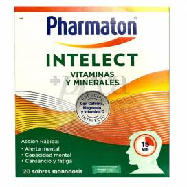 PHARMATON INTELECT 20 SACHETS 11,6 G